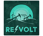 revolt cannabis podcast logo