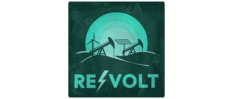 revolt cannabis podcast logo